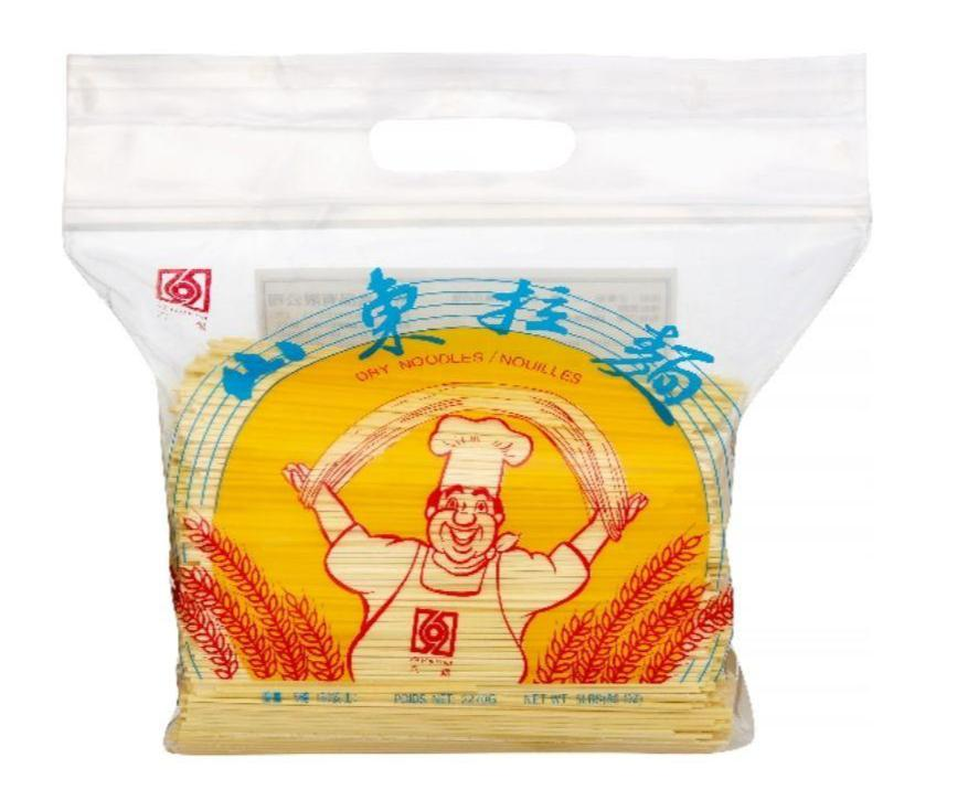 Six Fortune Dried Yellow Noodles 5LB - 六福山东拉面