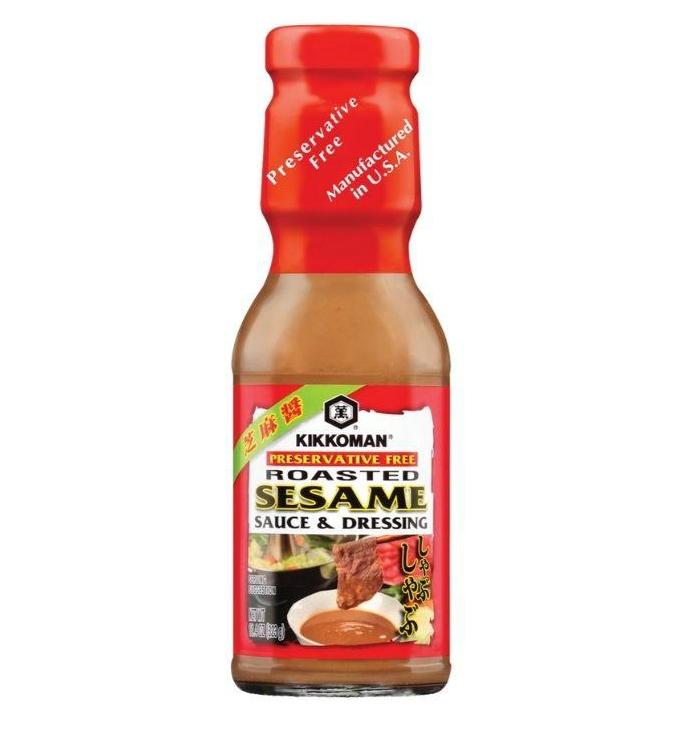 KIKKOMAN Roasted Sesame Sauce and Dressing 11.4 Oz (323 g)