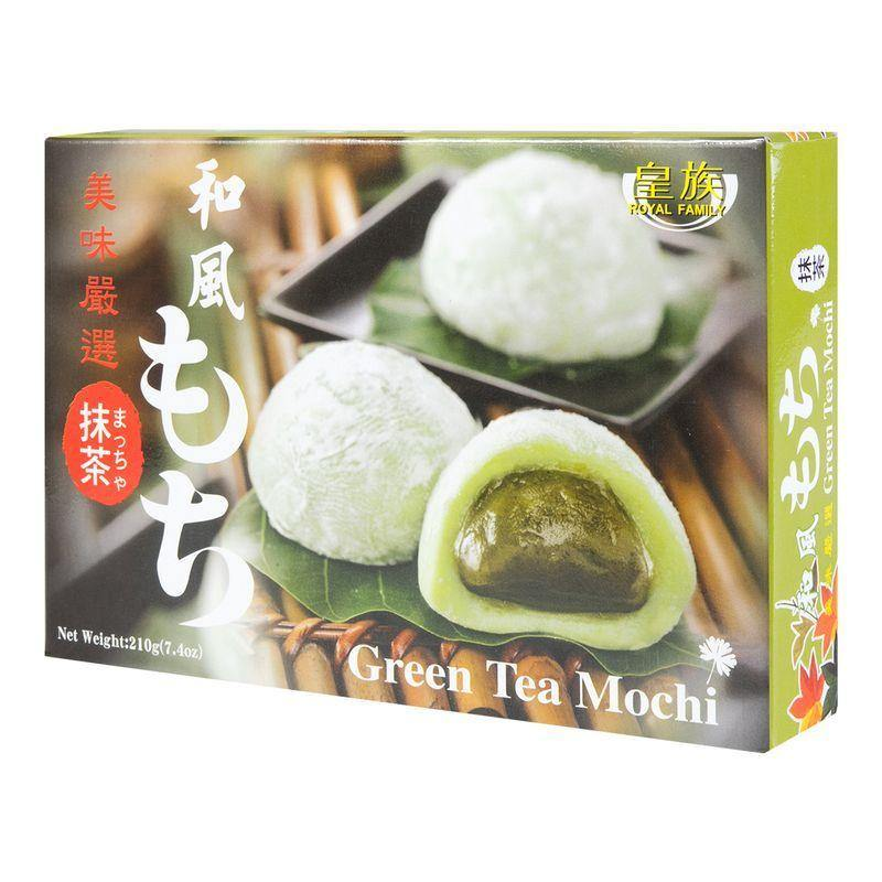 Royal Family Green Tea Mochi 7.4 Oz (210 g) - 台湾皇族 日式和风麻薯 抹茶味 210g