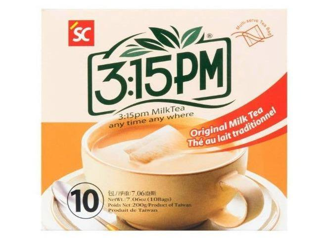 3:15PM Original Instant Milk Tea 10 Bags 7.06 Oz (200 g) - 3点一刻经典原味奶茶