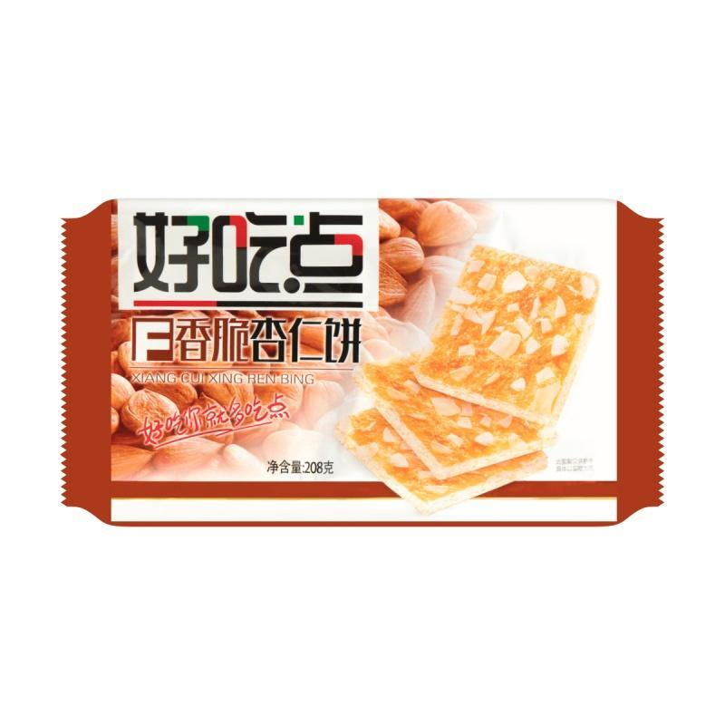 HaoChiDian Crispy Cream Almond Biscuit (208 g) - 达利园好吃点香脆杏仁饼