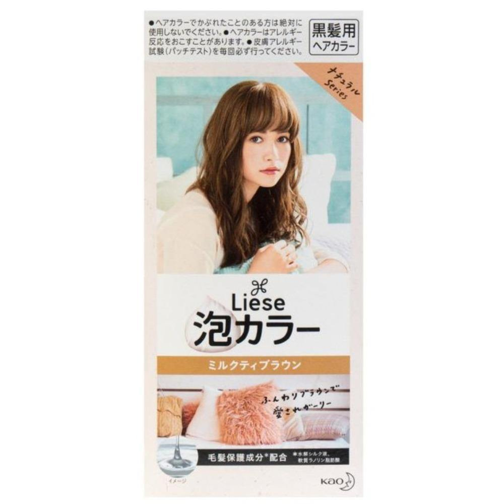KAO-LIESE PRETTIA Hair Dye Milk Tea Brown Color