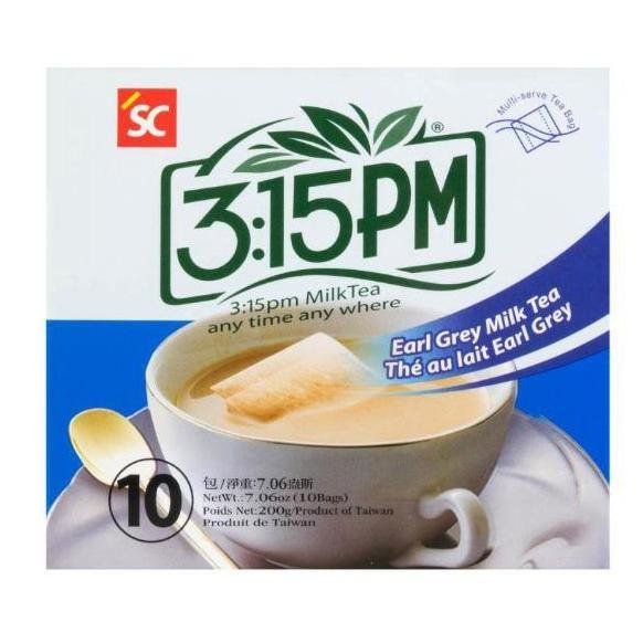 3:15PM Earl Grey Instant Taiwanese Milk Tea 10 Bags 7.06 Oz (200 g) - 3点一刻经典伯爵奶茶