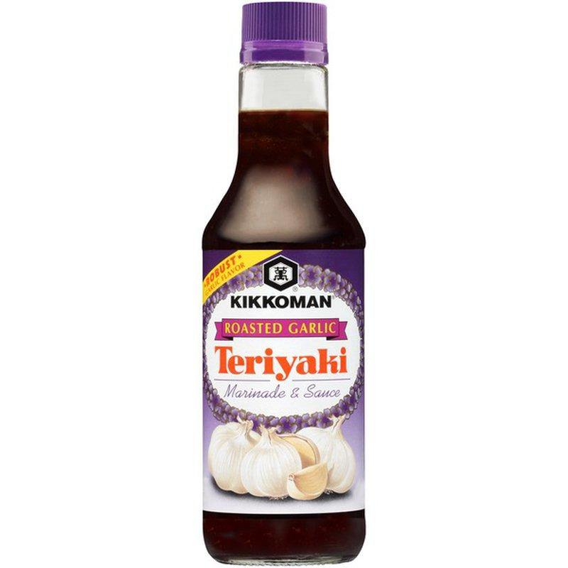 KIKKOMAN Roasted Garlic Teriyaki Sauce 10FL Oz (296 mL)