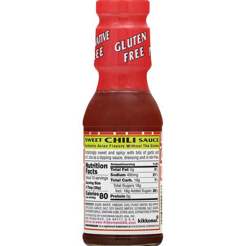 KIKKOMAN Sweet Chili Gluten Free Sauce and Dressing 13Oz (368 g)