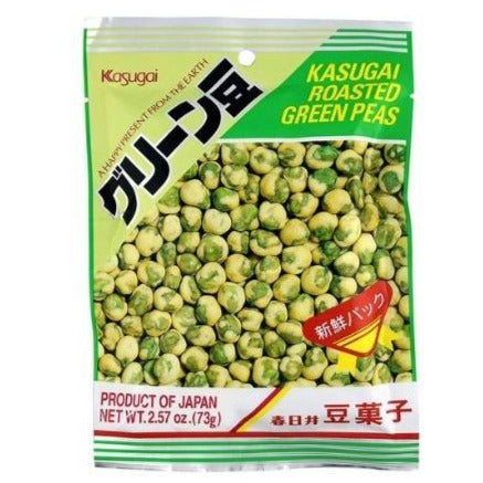 Kasugai Roasted Green Peas 2.57 Oz (73 g)