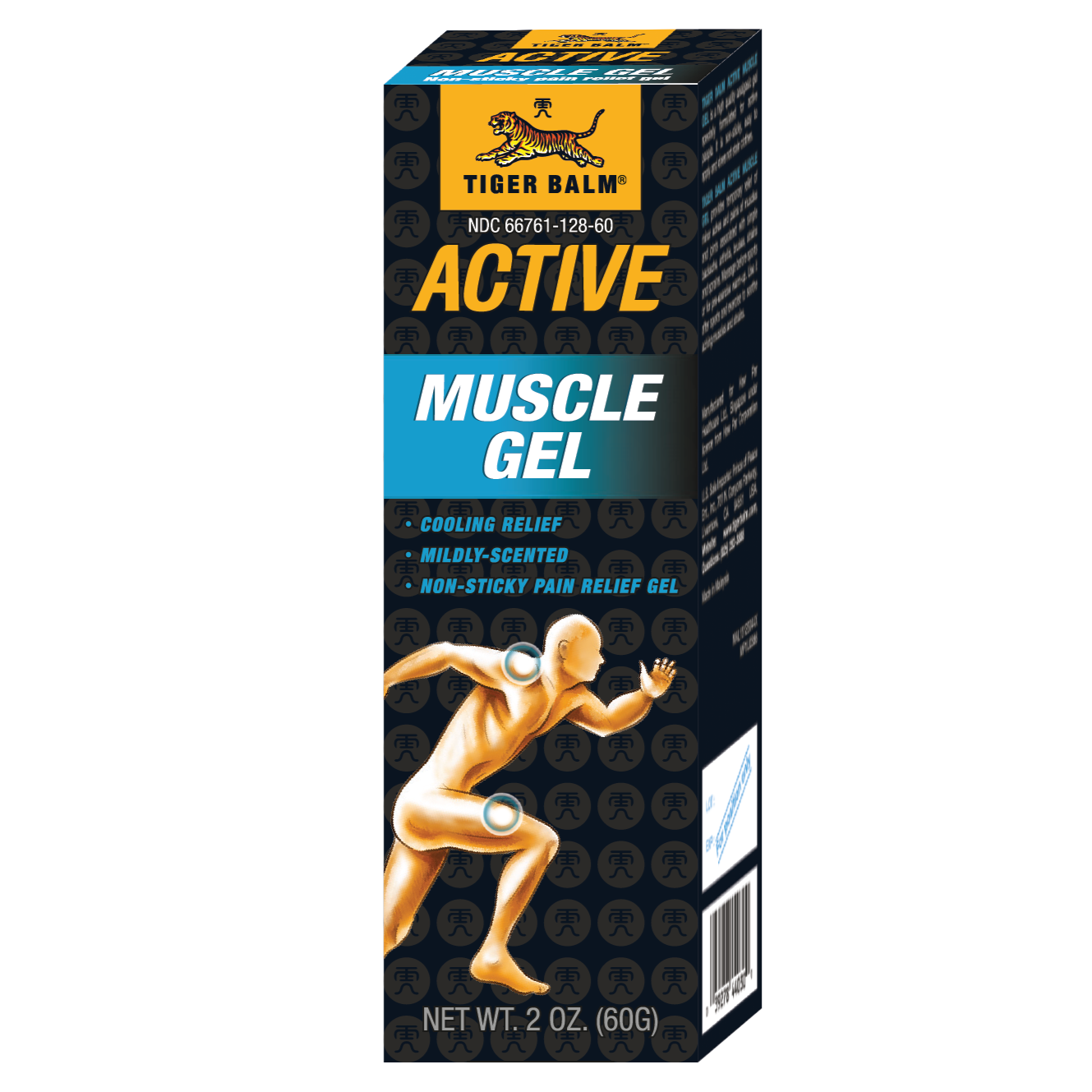 Tiger Balm Active Muscle Gel 2 Oz (60 g)