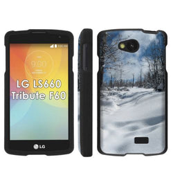 LG Tribute LS660 F60 Transpyre Slim Case  - Fresh Snow Powder