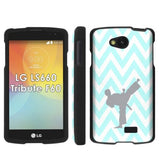 LG Tribute LS660 F60 Transpyre Slim Case  - Chevron Martial Arts