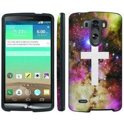 Mobiflare LG G3 Slim Guard Armor Phone Case  - Galaxy Cross