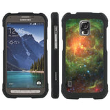 Samsung Galaxy [S5 ACTIVE] Slim Guard Armor  - Stars Are Born