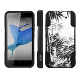 Mobiflare Kickstand Case for ZTE Z797 Quartz  - Bamboo Brush Painting
