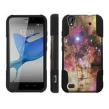 Mobiflare Kickstand Case for ZTE Z797 Quartz  - Galaxy