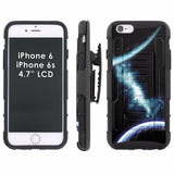 iPhone [6/6S]  Armor Phone Case [Holster] [Screen Protector] - Ethnic