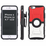 iPhone [6/6S]  Armor Phone Case [Holster] [Screen Protector] - JDM