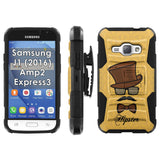Galaxy [J1] [Amp2] [Express 3] [2016] Armor Phone Case [Screen Protet] - VAR15