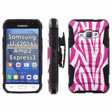 Galaxy [J1] [Amp2] [Express 3] [2016] Armor Phone Case [Screen Protet] - VAR1