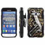 Galaxy [J1] [Amp2] [Express 3] [2016] Armor Phone Case [Screen Protet] - VAR3