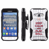 Galaxy [J1] [Amp2] [Express 3] [2016] Armor Phone Case [Screen Protet] - VAR12
