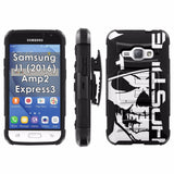 Galaxy [J1] [Amp2] [Express 3] [2016] Armor Phone Case [Screen Protet] - VAR16