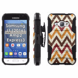 Galaxy [J1] [Amp2] [Express 3] [2016] Armor Phone Case [Screen Protet] - VAR5