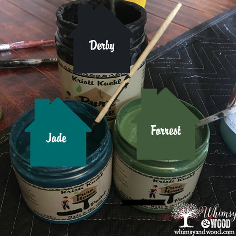 Blending Colors for your Custom Finish.