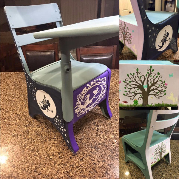*Fairytale ReStyled Vintage School Desk