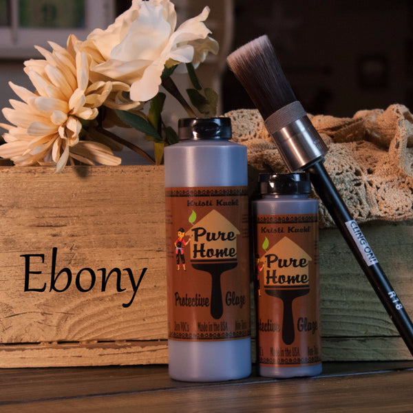 Ebony Tinted Glaze-Protective Finish