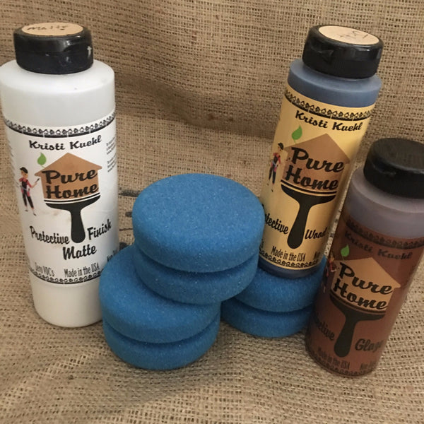 Blue Applicator Sponges