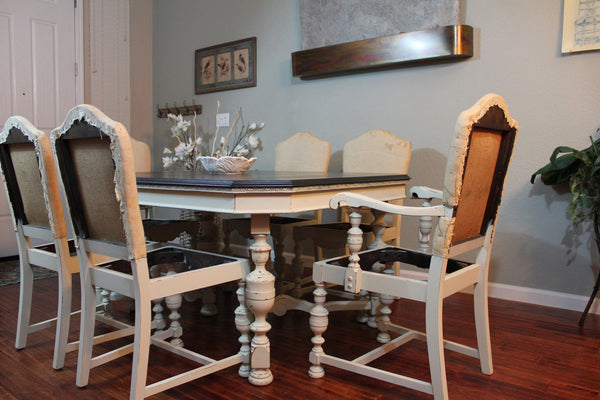 **SOLD** Antique Jacobean Dining set