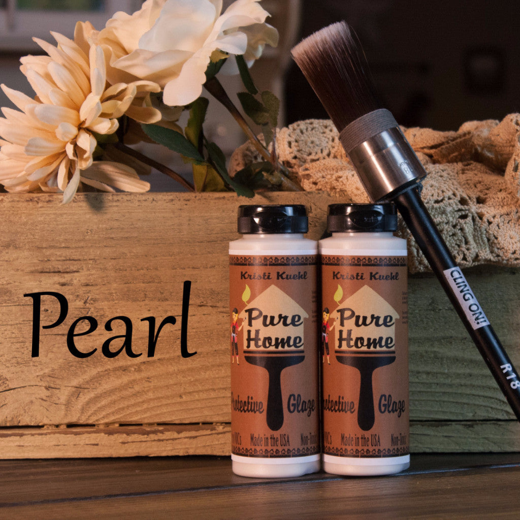 Pearl Tinted Glaze-Protective Finish