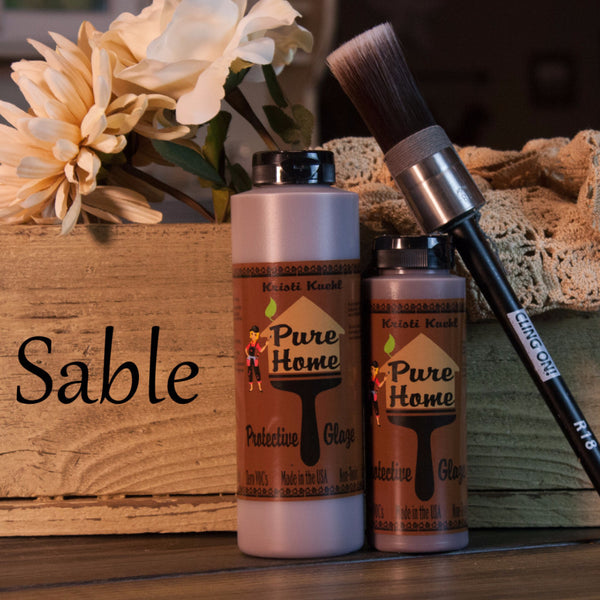 Sable Tinted Glaze-Protective Finish