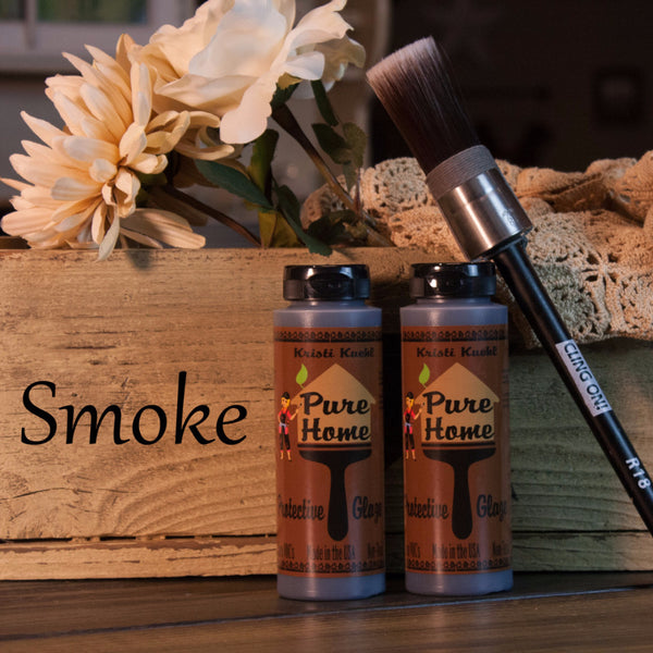 Smoke Tinted Glaze-Protective Finish