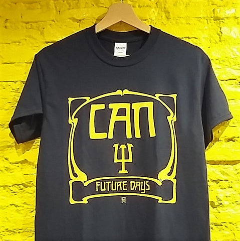 "CAN - ""Future days"" logo T-SHIRT *** ALL SIZES AVAILABLE ***"