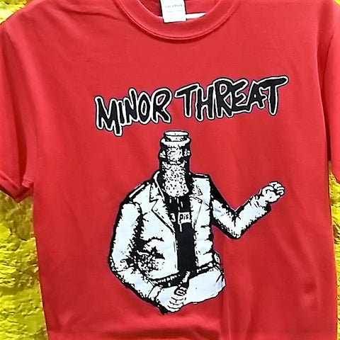MINOR THREAT - logo T-SHIRT *** ALL SIZES AVAILABLE ***