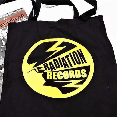 "SHOPPER BAG - ""RADIATION RECORDS"" logo SHOPPER BAG *** 2 COLORS AVAILABLE ***"