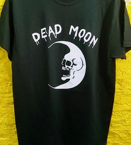 DEAD MOON - logo T-SHIRT ***ALL SIZES AVAILABLE***