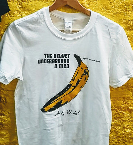 VELVET UNDERGROUND & NICO - logo T-Shirt ***ALL SIZES AVAILABLE***