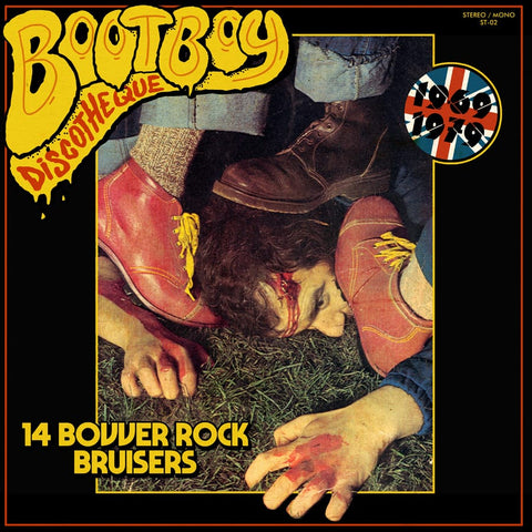 V/A BOOTBOY DISCOTHEQUE 14 BOVVER ROCK BRUISERS 1969-1979 (LP, COMP, BLACK VINYL) - NEW