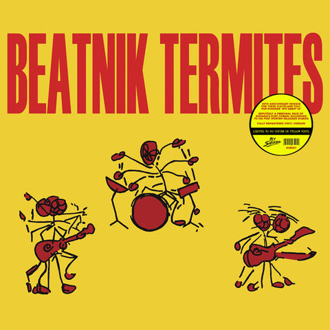 BEATNIK TERMITES - s/t (LP, Album, RE, YELLOW VINYL) - NEW