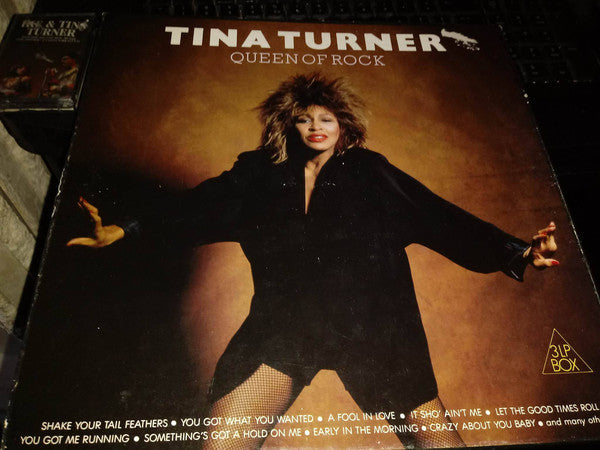 Tina Turner - Queen Of Rock (3xLP, Unofficial) - USED