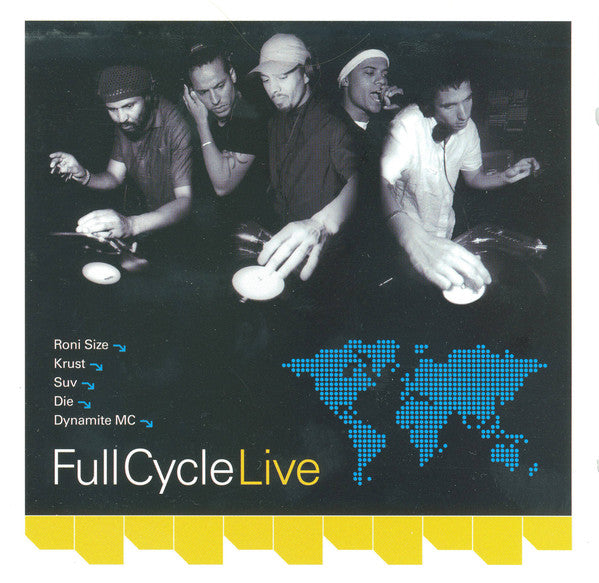 Various - Full Cycle Live (CD, Comp, Mixed) - USED