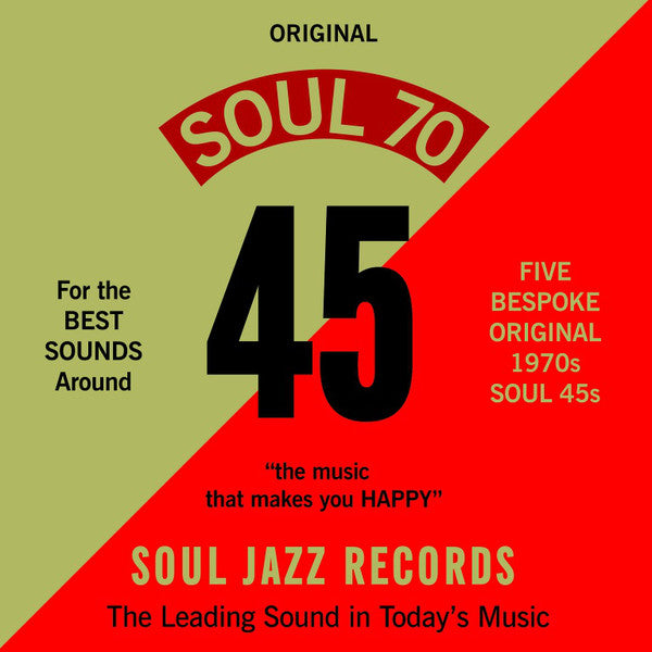 "Various - Soul 70 (5x7"", Comp + Box, Ltd) - NEW"