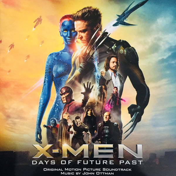 John Ottman - X-Men: Days Of Future Past (Original Motion Picture Soundtrack) (2xLP, Album, 180) - NEW