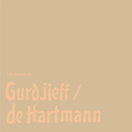 Thomas de Hartmann - The Music Of Gurdjieff / De Hartmann (5xLP, Lim) - NEW
