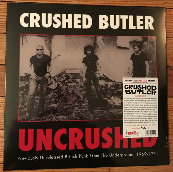 Crushed Butler - Uncrushed: Previously Unreleased British Punk From The Underground 1969-1971 (LP) - NEW