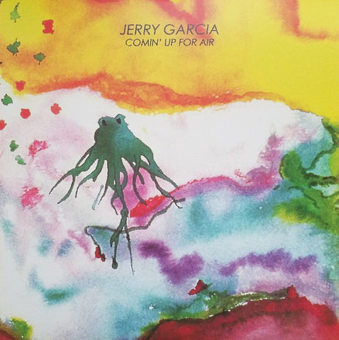Jerry Garcia - Comin' Up For Air (2xLP, Album, Unofficial) - NEW