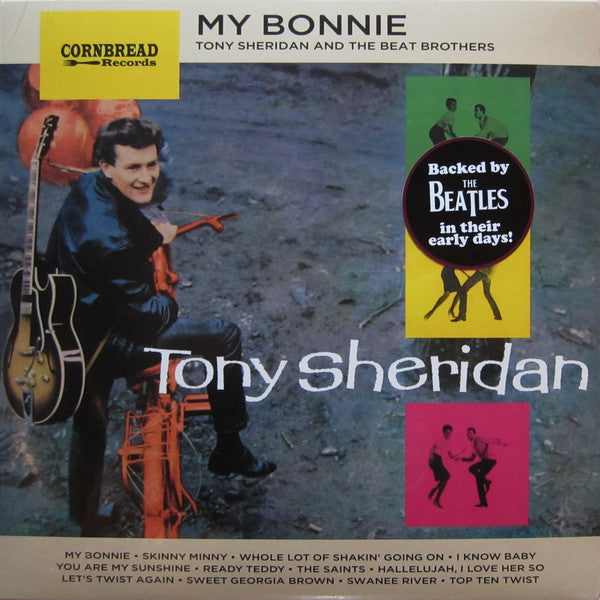 Tony Sheridan And The Beat Brothers - My Bonnie (LP, Album, RE) - NEW