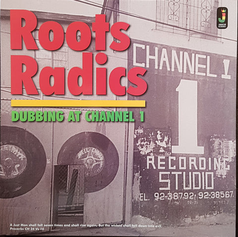 Roots Radics* - Dubbing At Channel 1 (LP, Comp) - NEW