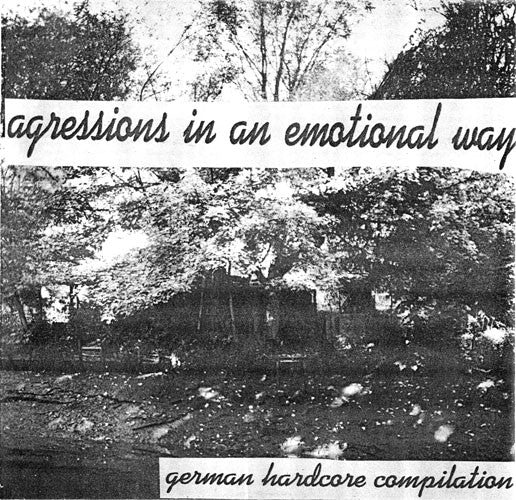 "Various - Agressions In An Emotional Way (7"", Comp) - USED"